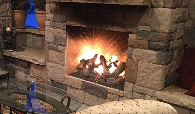 Indoor Wood Burning Fireplace :: AF Distributors